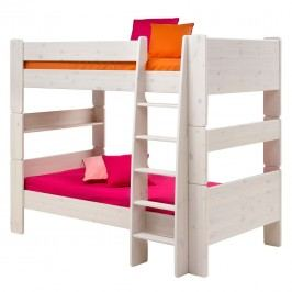 Etagenbett Steens for Kids - Kiefer massiv - Weiß, Steens
