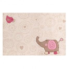 Kinderteppich Happy Zoo Elephant - 120 x 180 cm, Sigikid