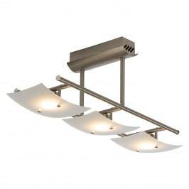 EEK A+, LED-Deckenleuchte Fashion Square - Glas / Metall - 3, Brilliant