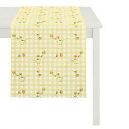 Tischläufer Happy Easter III - Gelb, Apelt