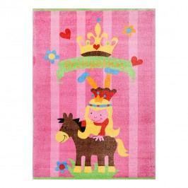 Kinderteppich Mamba - Rosa - 90 cm x 160 cm, Theko die markenteppiche