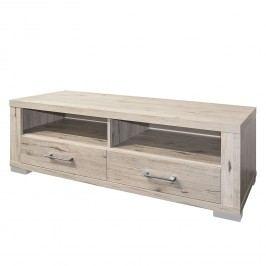 TV-Lowboard Hunton - Sandeiche Dekor - 134 cm, mooved