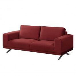 Sofa Lorcy (2-Sitzer) Samt - Rot, Fredriks