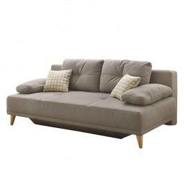 Schlafsofa Cavalier - Flachgewebe - Taupe, Home Design