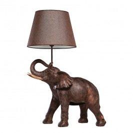 EEK A++, Tischleuchte TL Elephant Safari - Kunststoff/Stoff - 1-flammig, Kare Design