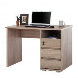 Schreibtisch Wilson - Sonoma Eiche Dekor, home24 office