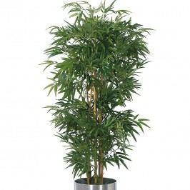 Kunstpflanze Bambusbaum - Textilgewebe - Grün, Ars Natura