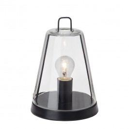 EEK A++, Tischleuchte Handy - Metall/Glas - Schwarz - 1-flammig, Brilliant
