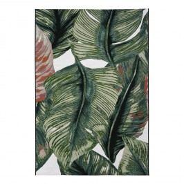 Kurzflorteppich Garden Leaf - Kunstfaser - Grün - 160 x 230 cm, Tom Tailor