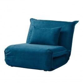 Schlafsessel Jake Microfaser - Brilliantblau, Fredriks