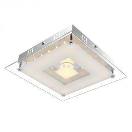 EEK A+, LED-Deckenleuchte Franco - Metall / Glas - 42.4, Globo Lighting
