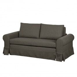Schlafsofa Latina XIII Webstoff - Taupe - 185 cm, mooved
