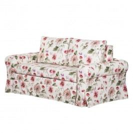 Schlafsofa Latina VIII Webstoff - Creme / Rot - 205 cm, mooved