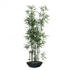Kunstpflanze Bambus im Terrakottatopf - Textil - Grün, Pure Day