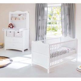 Babyzimmerset Florentina Kids I (2-teilig) - Weiß, Pinolino