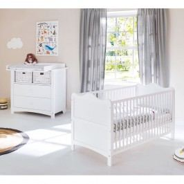 Babyzimmerset Florentina Kids II (2-teilig) - Weiß - 101 cm, Pinolino