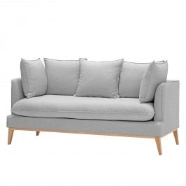 Sofa Sulviken (3-Sitzer) Webstoff - Stoff Dona Grau, Morteens