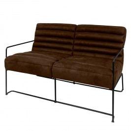 Sofa Voda II (2-Sitzer) - Antiklederlook - Braun, ars manufacti
