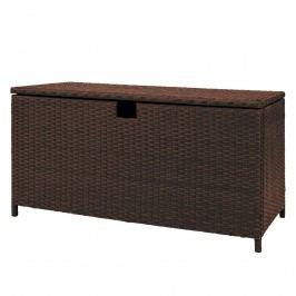 Auflagenbox Paradise Lounge - Polyrattan - Anthrazit - 150 - Braun, Fredriks