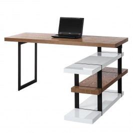Schreibtisch Kempton - Esche / Hochglanz Weiß, Studio Copenhagen