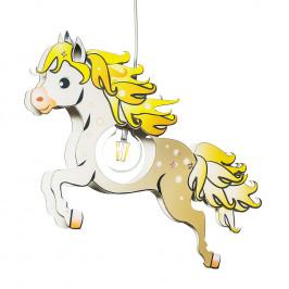 home24 Pendelleuchte Pferd