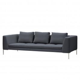 home24 Studio Copenhagen Sofa Madison 3-Sitzer Anthrazit Webstoff 238x66x105 cm