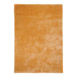 home24 Gino Falcone Hochflorteppich Alessia Honig Rechteckig 50x80 cm (BxT) Kunstfaser