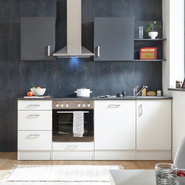 home24 Küchenzeile Korkee I (8-teilig)