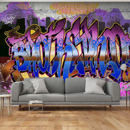home24 Vliestapete Colorful Mural
