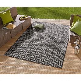home24 In-/Outdoor-Teppich Karo