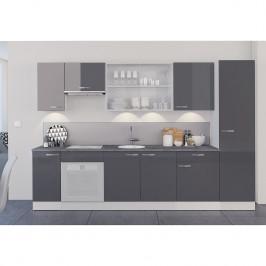 home24 Küchenzeile Sudros III (9-teilig)
