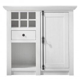 Kommode Geestland II - Pinie Weiß Dekor, Maison Belfort