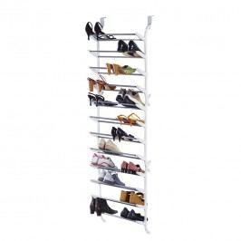 Schuhregal für die Tür - Kunststoff/Metall - Weiß, Pure Day