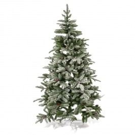 Kunstbaum Tannenbaum - Polyethylen - Dunkelgrün / Weiß, Pure Day