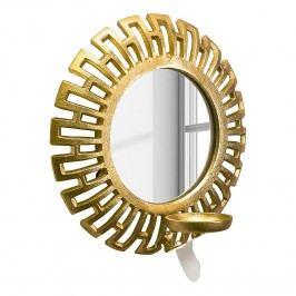 Spiegeldeko Mirror Goldfarben - Aluminium - Gold, Pure Day
