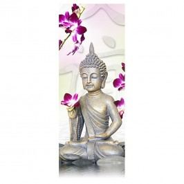 Glasbild Buddha II 80x30, Pro Art