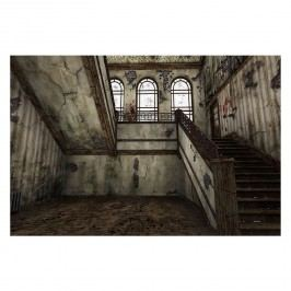Bild Staircase - Leinwand - Braun / Beige, Wandbilder XXL