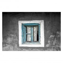 Bild Old Window - Leinwand - Schwarz / Weiß, Wandbilder XXL