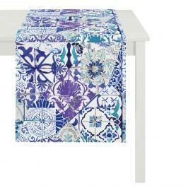 Tischläufer Summer Garden III - Blau, Apelt