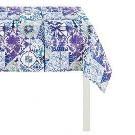 Tischdecke Summer Garden III - Blau - 95 x 95 cm, Apelt