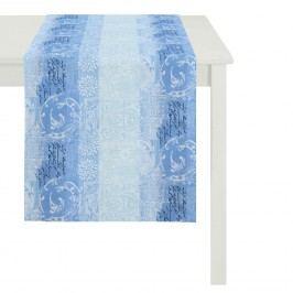 Tischläufer Summer Garden II - Blau - 48 x 135 cm, Apelt