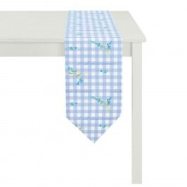 Tischband Happy Easter III - Blau, Apelt
