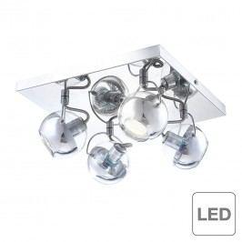 EEK A++, Deckenleuchte Aramid - 4-flammig, Globo Lighting