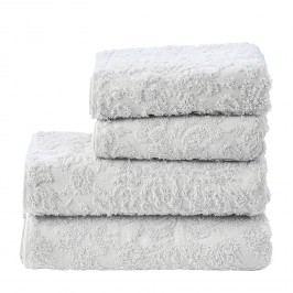 Handtuchset Prov Ornament II (4-teilig) - Baumwollstoff - Weiß, mooved