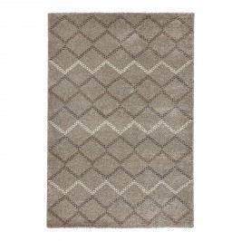 Teppich Nouveau - Kunstfaser - Taupe - 120 x 170 cm, Top Square