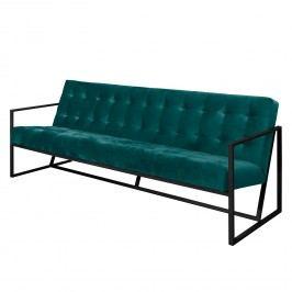 Sofa Charm I Microfaser (3-Sitzer) - Petrol, Jack and Alice