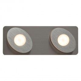 EEK A+, LED-Wandleuchte Crossing - Kunststoff / Aluminium - 2, Brilliant