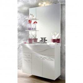 Auro Waschplatz - Weiß - Ohne Beleuchtung, Posseik