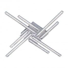 EEK A+, LED-Deckenleuchte Sorel - Metall / Acrylglas, Wofi
