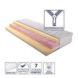 7-Zonen Komfort Kaltschaummatratze Memory Premium - 160 x 200cm - H2 bis 80 kg, Breckle